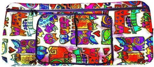 Купить Чехол-портмоне Y-SCOO 230 Кошки разноцветный, Аксессуары для самокатов