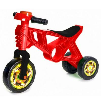 Каталка-беговел RT Самоделкин ОР171 красный каталка беговел rt самоделкин пластик от 1 года на колесах бирюзовый