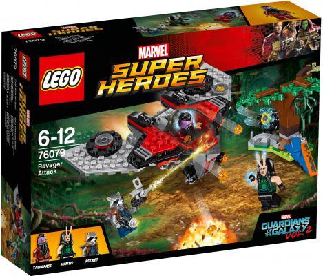 Конструктор LEGO Super Heroes: Нападение Тазерфейса 197 элементов 76079