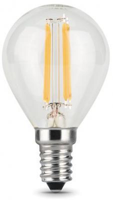 Лампа светодиодная шар Gauss 105801105 E14 5W 2700K