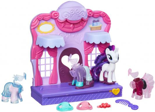 Игровой набор HASBRO My Little Pony Бутик Рарити в Кантерлоте 9 предметов цена 2017