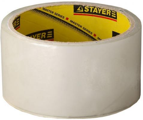 Лента Stayer Master клейкая прозрачная 48ммх60м 1204-50 лента клейкая stayer profi 1217 25