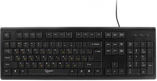 Клавиатура проводная Gembird KB-8353U-BL USB черный цена и фото