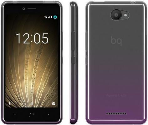 Чехол BQ для BQ Aquaris U/U Lite пурпурный