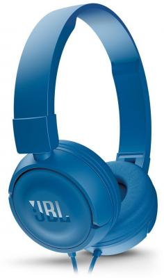 Гарнитура JBL T450 синий JBLT450BLU гарнитура jbl e55bt белый jble55btwht