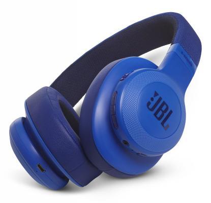 Гарнитура JBL E55BT синий JBLE55BTBLU наушники bluetooth jbl e55bt blue jble55btblu