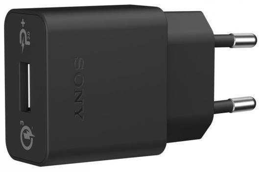 Сетевое зарядное устройство Sony UCH12W USB черный