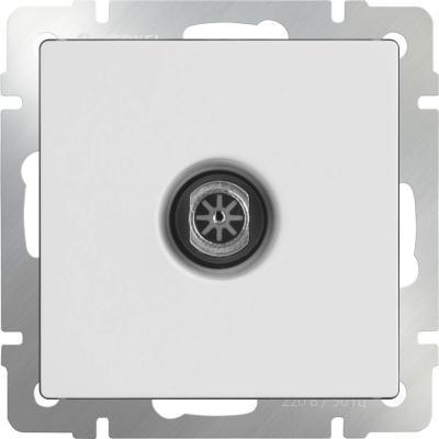 цены  ТВ-розетка проходная белая WL01-TV-2W 4690389073472