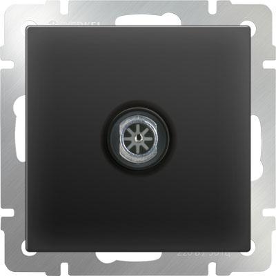 ТВ-розетка проходная черный матовый WL08-TV-2W 4690389073519 тв розетка проходная черный матовый wl08 tv 2w 4690389073519