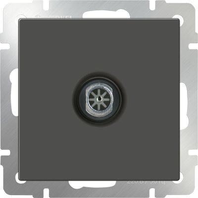 ТВ-розетка оконечная серо-коричневая WL07-TV 4690389054112  цена и фото