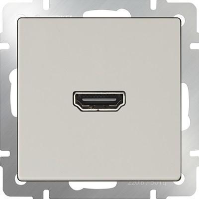 Розетка HDMI слоновая кость WL03-60-11 4690389097508