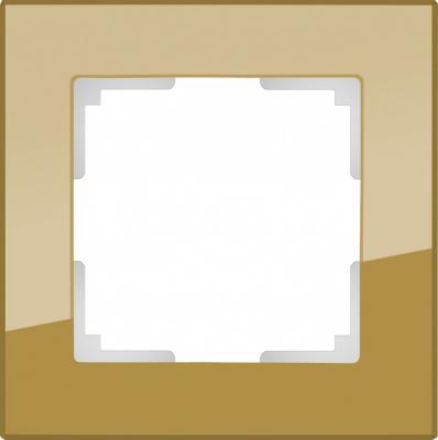 Рамка Favorit на 1 пост бронзовый WL01-Frame-01 4690389098567