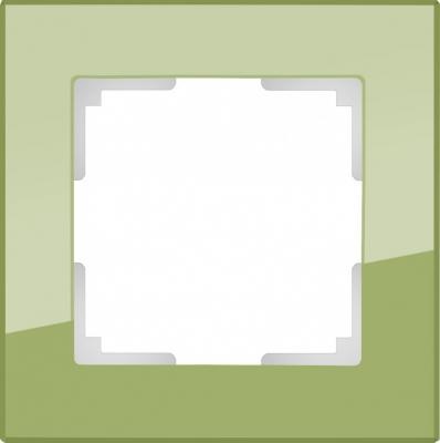Рамка Favorit на 1 пост фисташковый WL01-Frame-01 4690389098574 рамка favorit на 1 пост бронзовый wl01 frame 01 werkel 1209837
