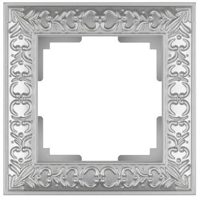 Рамка Antik на 1 пост жемчужный WL07-Frame-01 4690389063497 schneider merten sd antik беж рамка 1 ая термопласт mtn483144