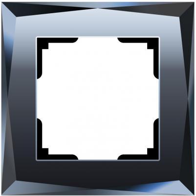 Рамка Diamant на 1 пост черный WL08-Frame-01 4690389054396 diamant мозаика фея