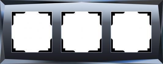 Рамка Diamant на 3 поста черный WL08-Frame-03 4690389054419 diamant мозаика фея