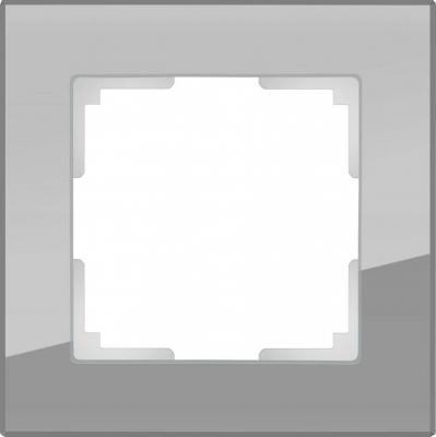 Рамка Favorit на 1 пост серый WL01-Frame-01 4690389061257 рамка favorit на 1 пост бронзовый wl01 frame 01 werkel 1209837