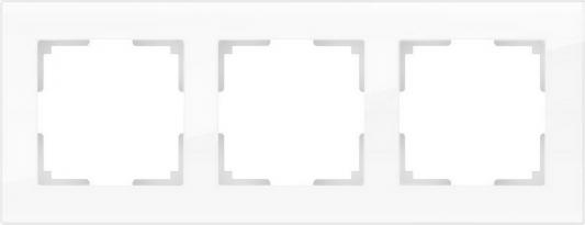 Рамка Favorit на 3 поста белый WL01-Frame-03 4690389061226 рамка favorit на 3 поста белый 4690389061226 page 1
