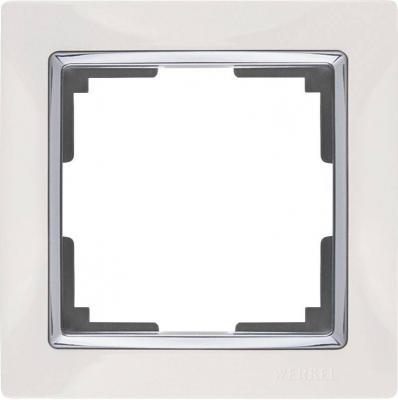 Рамка Snabb на 1 пост белая WL03-Frame-01-white 4690389046100 рамка flock на 1 пост белая werkel 1022948