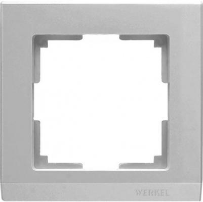 Рамка Stark на 1 пост серебряный WL04-Frame-01 4690389063688 stark
