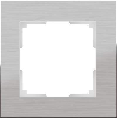Рамка Aluminium на 1 пост алюминий WL11-Frame-01 4690389073625 рамка flock на 1 пост белая werkel 1022948