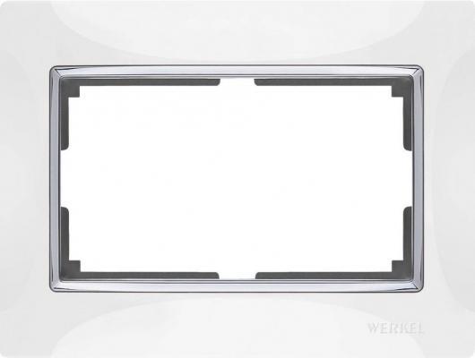 Рамка Snabb для двойной розетки белый WL03-Frame-01-DBL-white 4690389073137