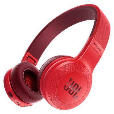 Гарнитура JBL E45BT красный JBLE45BTRED гарнитура jbl t280a silver