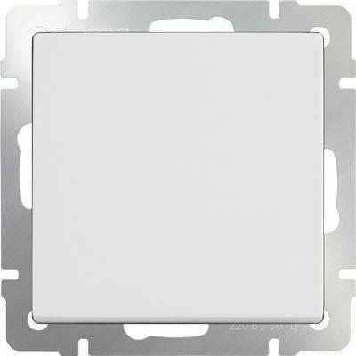 Выключатель одноклавишный белый WL01-SW-1G 4690389045530
