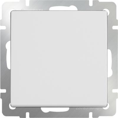 Перекрестный выключатель одноклавишный белый WL01-SW-1G-C 4690389073571