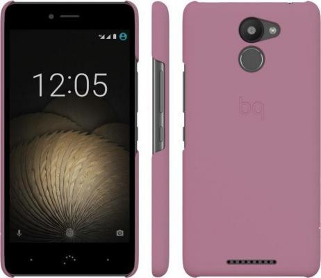 Чехол BQ для BQ Aquaris U Plus розовый E000707 сотовый телефон bq aquaris u plus 32gb black