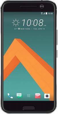 Смартфон HTC 10 EEA серый 5.2 32 Гб NFC LTE Wi-Fi GPS 3G смартфон zte blade v8 золотистый 5 2 32 гб lte wi fi gps 3g bladev8gold