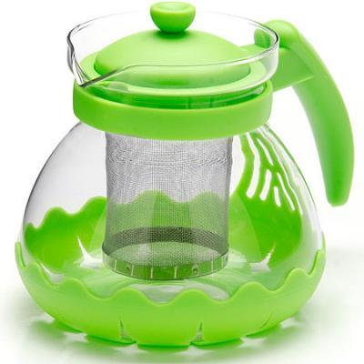 Чайник заварочный Mayer&Boch 26173-3 зелёный 0.7 л металл/стекло. Производитель: Mayer&Boch, артикул: 8989783