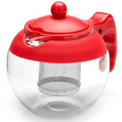 Чайник заварочный Mayer&Boch 26174-1-MB красный 0.75 л металл/стекло. Производитель: Mayer&Boch, артикул: 8989784