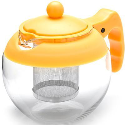 Чайник заварочный Mayer&Boch 26174-2-MB жёлтый 0.75 л металл/стекло. Производитель: Mayer&Boch, артикул: 8989785