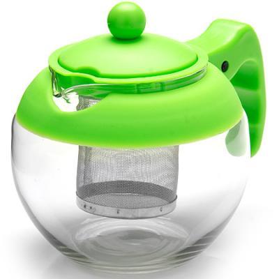 Чайник заварочный Mayer&Boch 26174-3-MB зелёный 0.75 л металл/стекло. Производитель: Mayer&Boch, артикул: 8989786