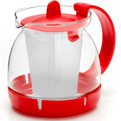 Чайник заварочный Mayer&Boch 26175-1-MB красный 0.8 л металл/стекло. Производитель: Mayer&Boch, артикул: 8989787