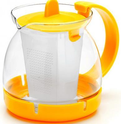 Чайник заварочный Mayer&Boch 26175-2-MB жёлтый 0.8 л стекло. Производитель: Mayer&Boch, артикул: 8989788