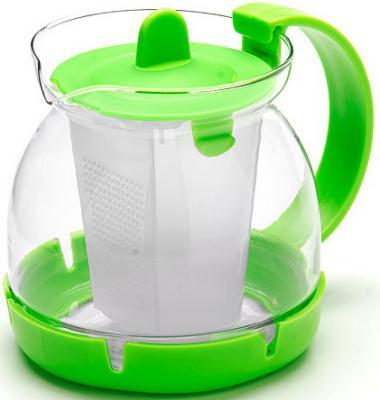 Чайник заварочный Mayer&Boch 26175-3-MB зелёный 0.8 л стекло