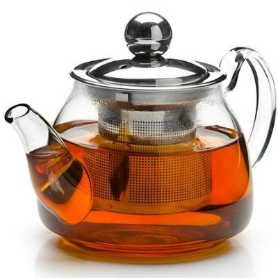 Чайник заварочный Mayer&Boch 26199-MB прозрачный 0.2 л стекло