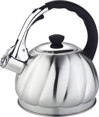 Чайник Bekker Premium BK-S604 серебристый 2 л нержавеющая сталь чайник bekker bk s315 2 5 л нержавеющая сталь серебристый