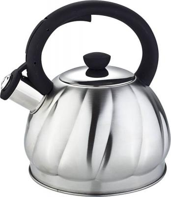 Чайник Bekker BK-S606 серебристый 2 л нержавеющая сталь чайник bekker bk s340 2 5 л нержавеющая сталь серебристый