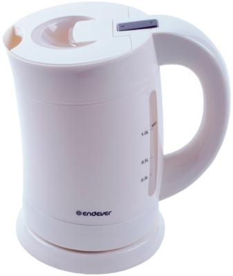 Чайник ENDEVER KR-355 1900 Вт белый 1 л пластик пылесосы endever пылесос
