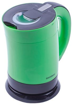 Чайник ENDEVER Skyline 357-KR 1900 Вт зелёный чёрный 1 л пластик