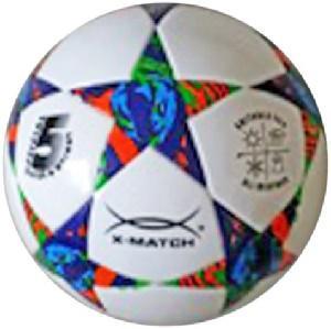 Мяч футбольный X-Match ламинированный PU+EVA, размер 5 56424 мяч футбольный umbro neo classic р 5 20594u 157