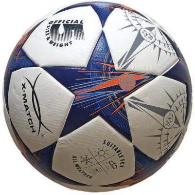 Мяч футбольный X-Match ламинированный PU+EVA, размер 5 56423 мяч футбольный umbro neo classic р 5 20594u 157