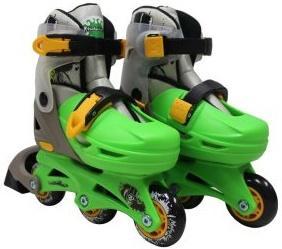 Набор коньки роликовые Moby Kids 2в1, защита, шлем, пласт.,р.30-33   641017