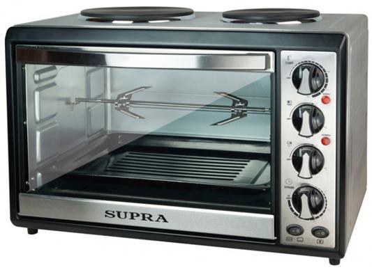 Мини-печь Supra MTS-382 серебристый