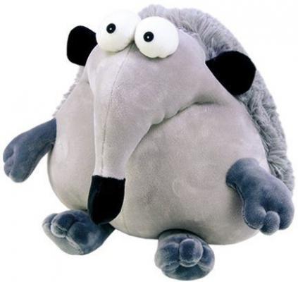 Антистрессовая игрушка ежик СПИ Пучеглаз Ежик текстиль серый 30 см