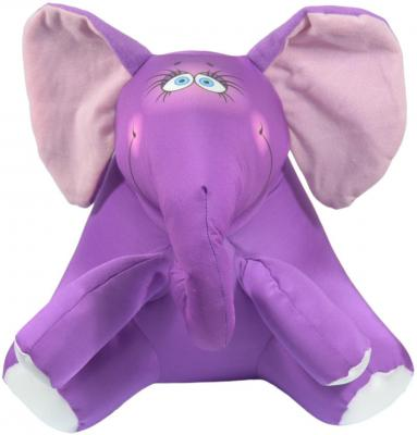 Антистрессовая игрушка слоненок СПИ Слон Ким сид полиэстер полистирол фиолетовый 29 см
