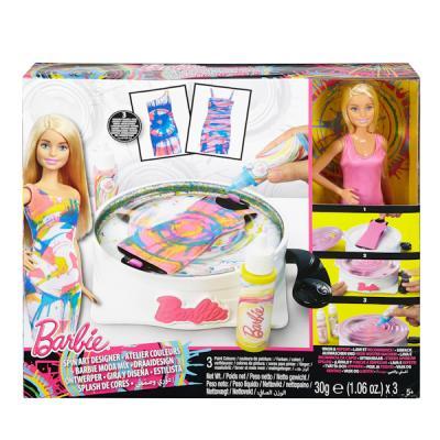 Игровой набор Barbie для создания цветных нарядов с куклой DMC10 куклы и одежда для кукол barbie игровой набор для создания цветных нарядов с куклой барби